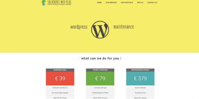 Soluciones Web Plus